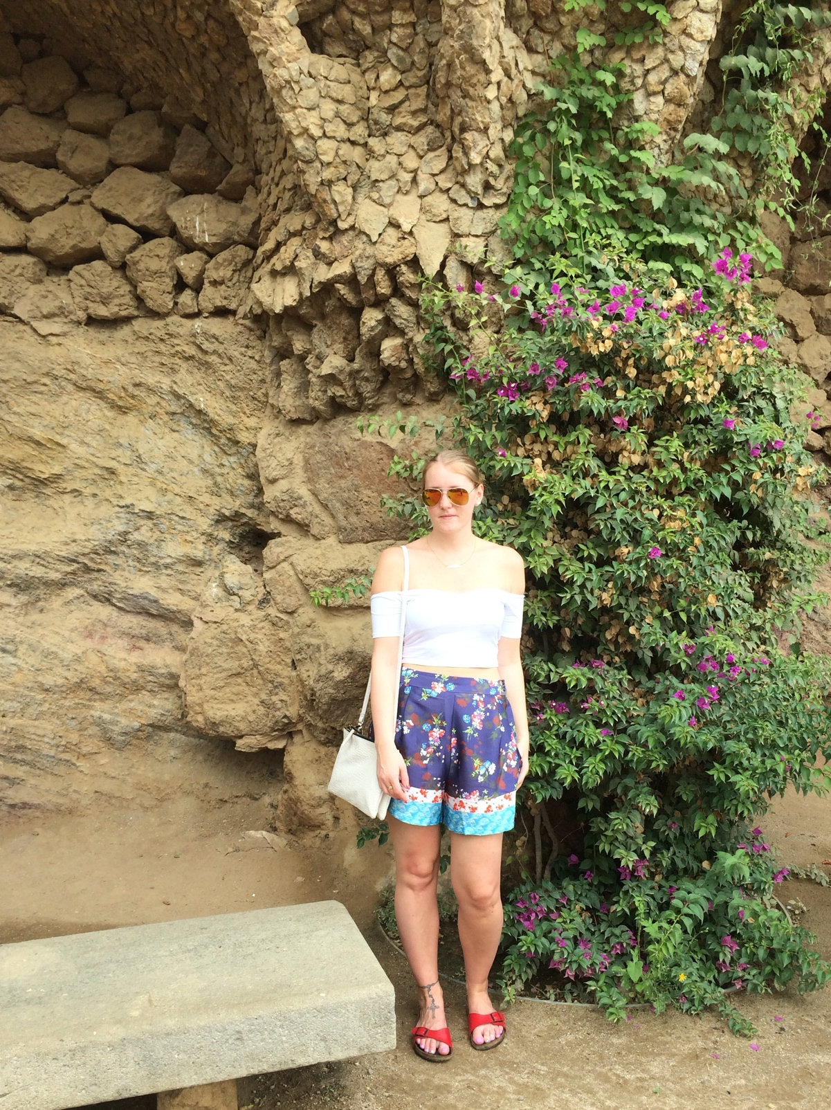 Parc-Guell-asos-floral-off-shoulder