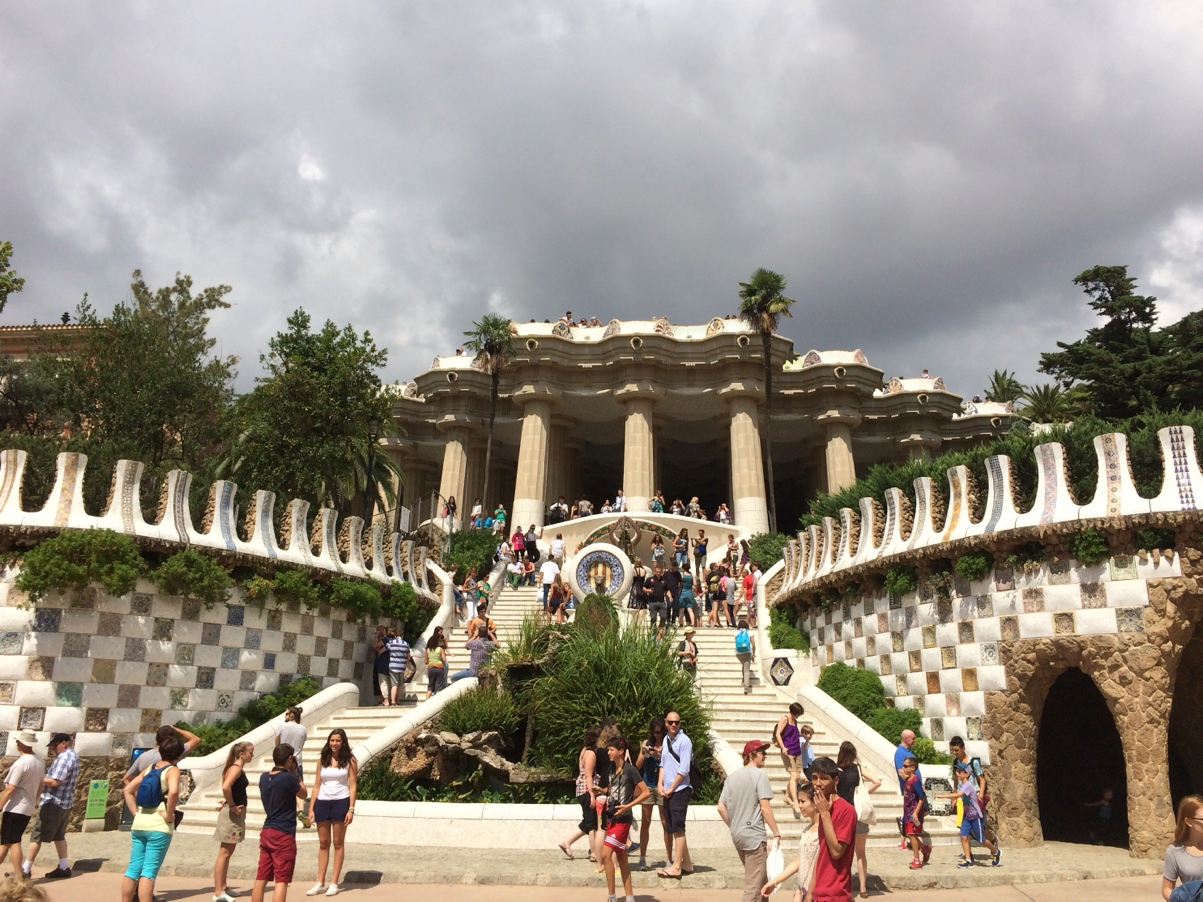 parc-Guell-gaudi-buildings