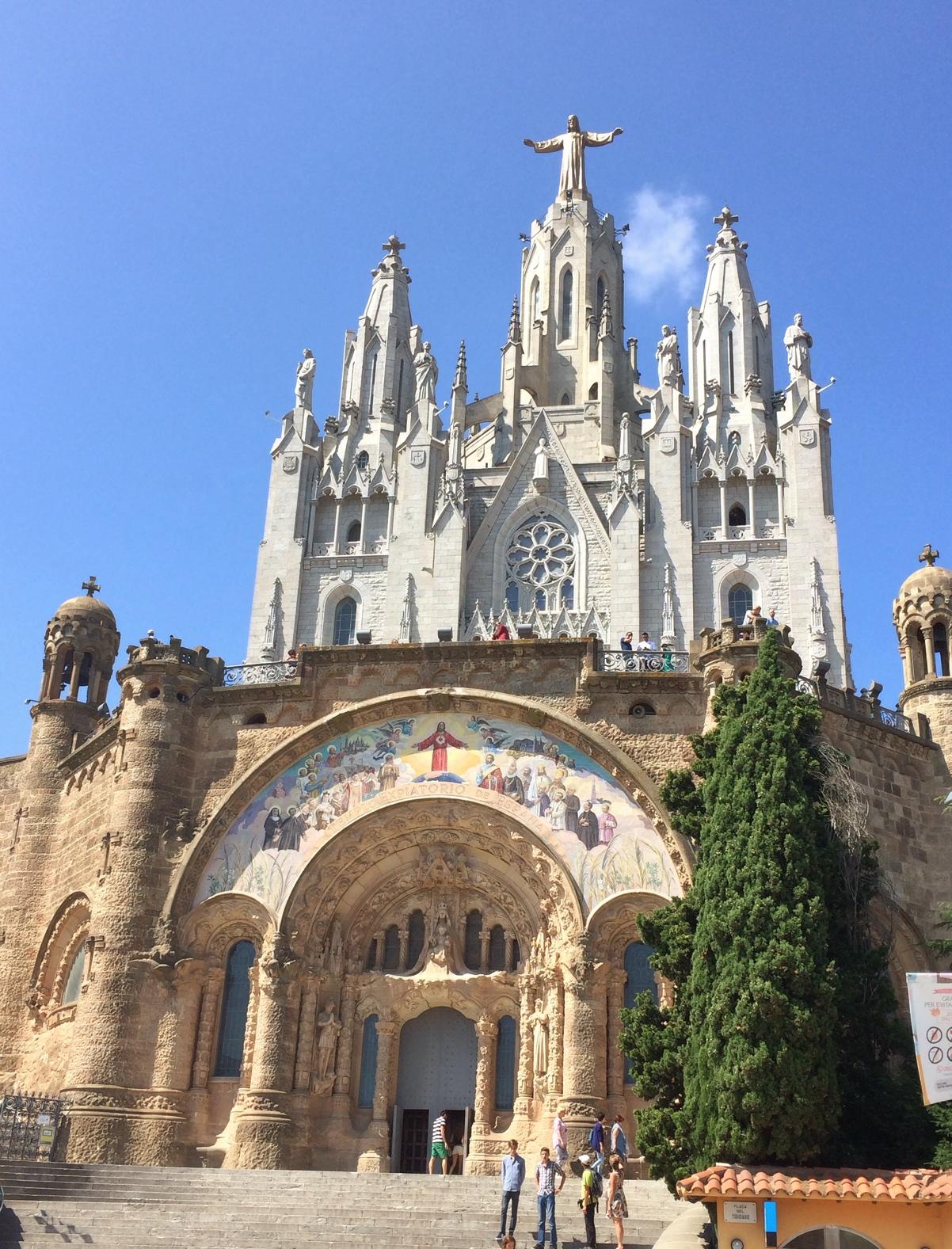 Tibidabo-church-barcelona