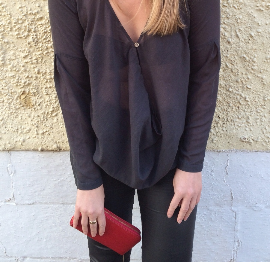 Draped-vero-Moda-sheer-shirt