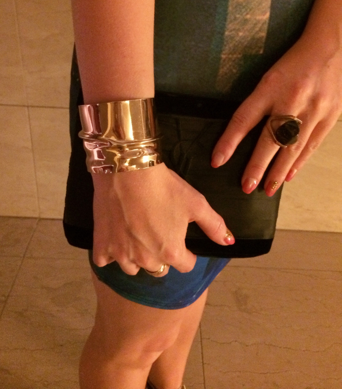 Gold-cuff-statement-ring