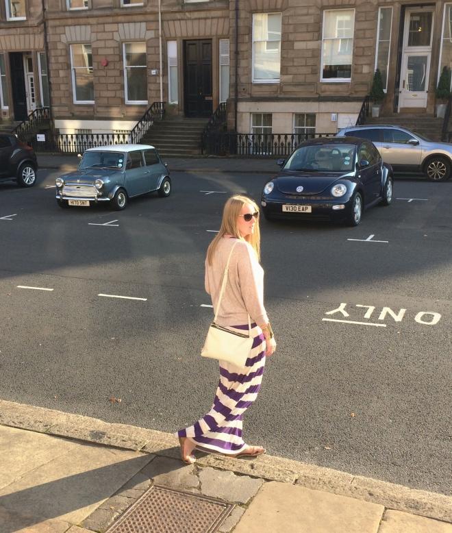 stripe-maxi-sweater-glasgow-street-style