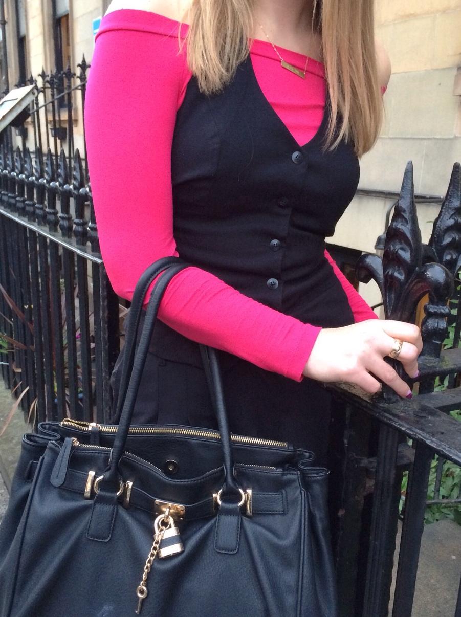 Pink-off-shoulder-waistcoat
