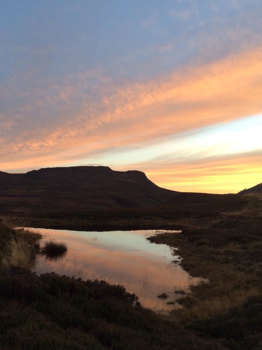 Orange-sky-Cairngorms-scotland