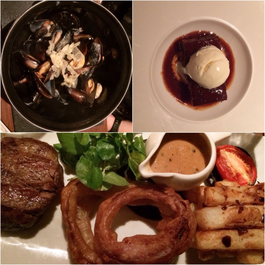 Steak-mussels-sticky-toffee-pudding-Tempus-Edinburgh
