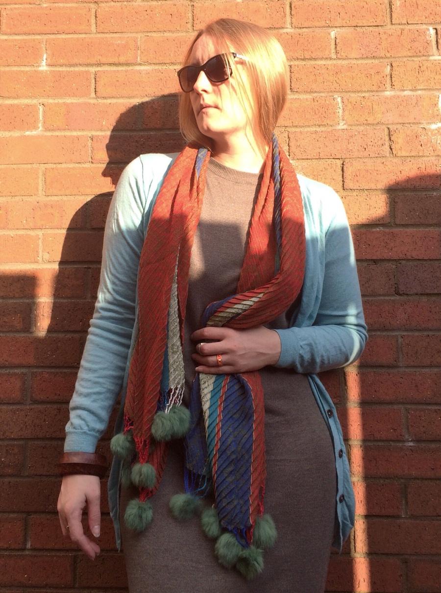 Wool-dress-scarf-layers
