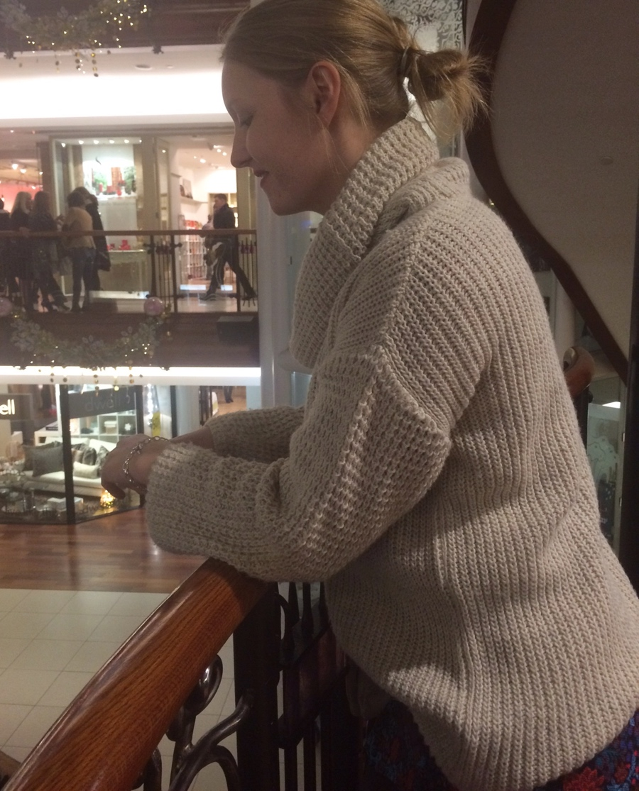 Chunky-knit-princes-square-Glasgow