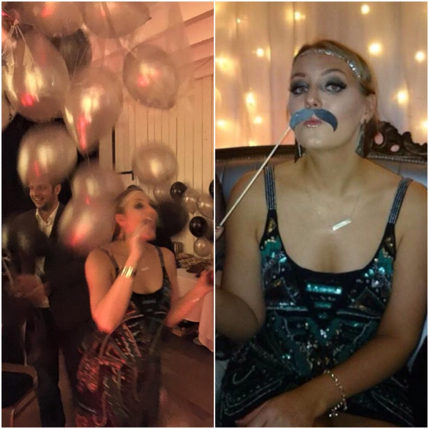 Balloon-canopy-moustache-prop-Gatsby-party-Glasgow