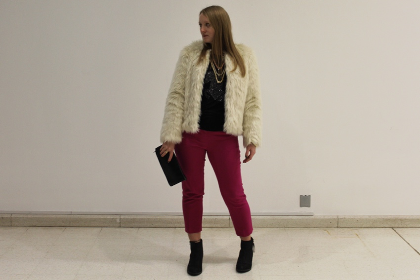 Faux-fur-pink-cropped-trousers-ootd