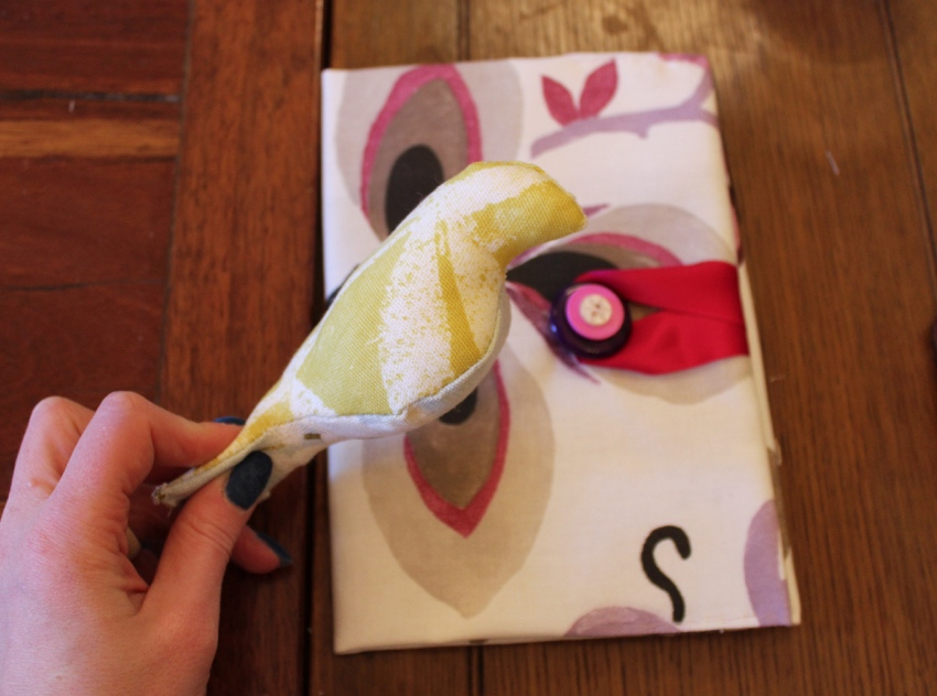 Hilary's-crafternoon-book-cover-stuffed-bird