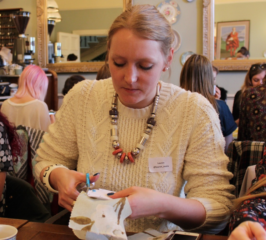 Hillarys-crafternoon-livinginaboxx-crafting-Glasgow