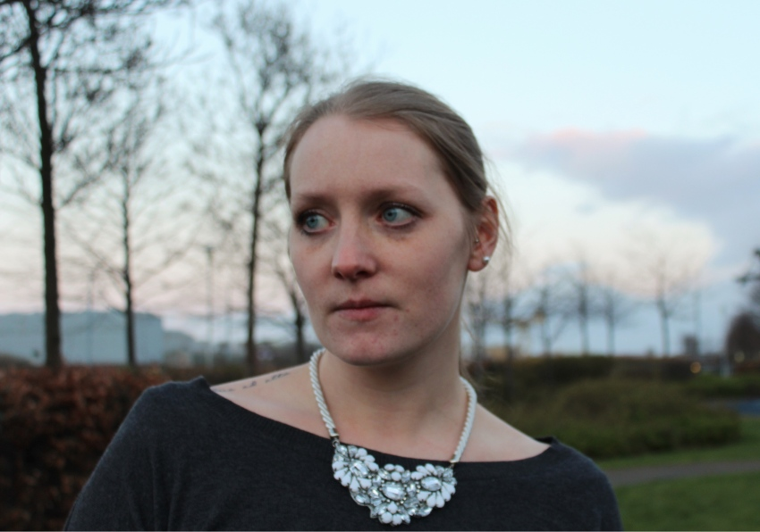 Statement-White-stone-necklace-street-style-Glasgow