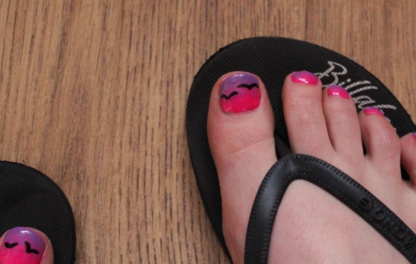 Pink-purple-sunset-nail-art
