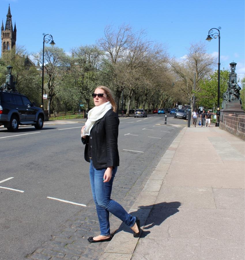 Jeans-blazer-street-style-kelvingrove-Glasgow