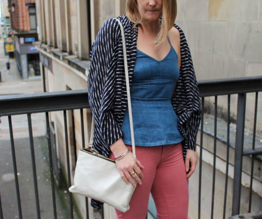 Double-denim-vest-coloured-jeans-Glasgow