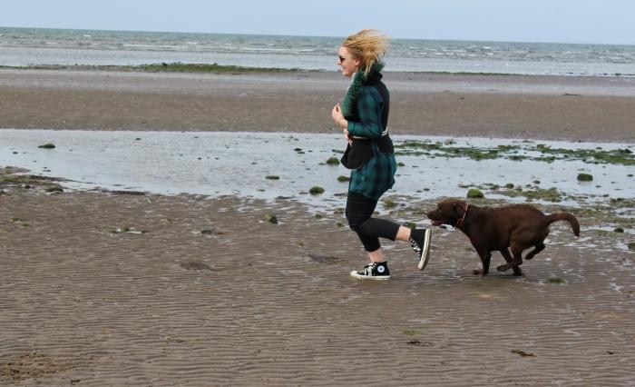 Scottish-beach-Labrador-fun