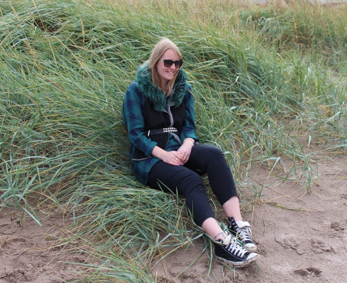 Scottish-beach-layered-hood-ootd