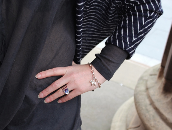 Layered-street-style-charm-bracelet
