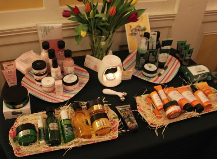 Body-shop-at-home-Glasgow-skincare-event