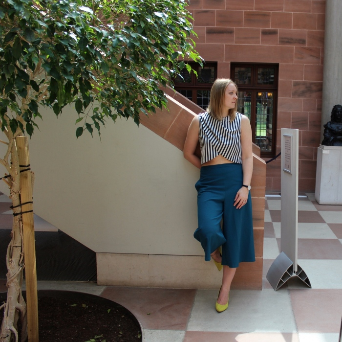 Culottes-striped-crop-top-street-style-Glasgow