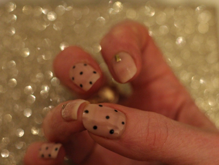 living-in-a-box-nude-embellished-polka-dot-nail-art